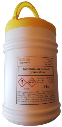 Denatonium benzoate granules 1 kg bottle