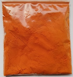 Yellow food dye mix powder