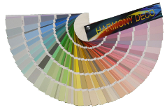 Harmony Deco® shade card