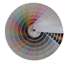 Harmony Synthesis® colour card